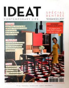 Couverture du magazine Ideat n°124 - Lumière ! 16 luminaires design à réaliser soi-même